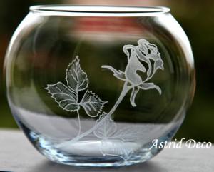 Bol gravat - Fir Trandafir