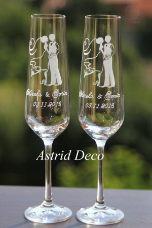 Pahare de Cristal - Miri - gravate manual pg54
