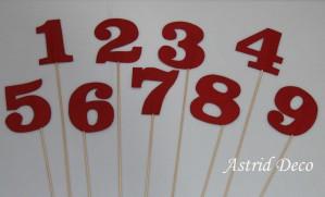 Numere masa - Cifre