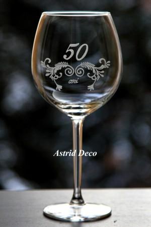 Pahar vin - 50 ani