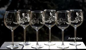 Set 6 pahare vin - Music