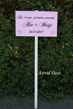 Pancarda text nunta - C