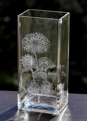 Vaza gravata - Floarea Soarelui