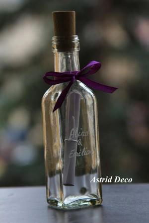 Invitatie nunta - Message in a bottle