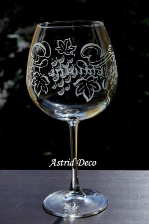 Pahar vin - Vita de vie - abstract