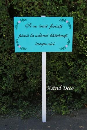 Pancarda text nunta - A