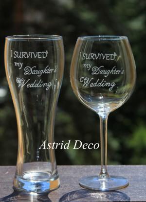 Set pentru parinti - Survived the wedding