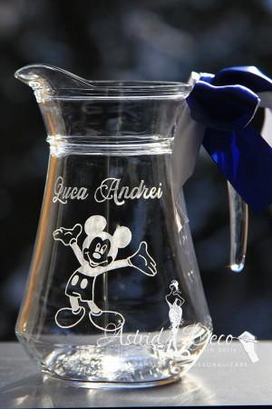 Carafa gravata manual - Botez- Mickey Mouse