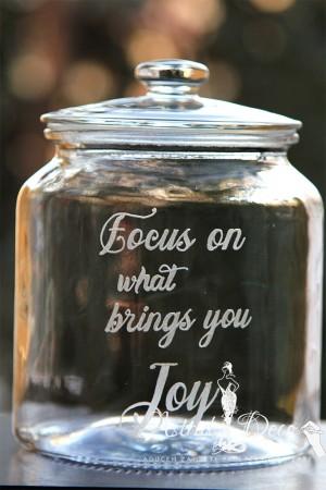 Borcan -Cookie Jar- gravat manual - Joy