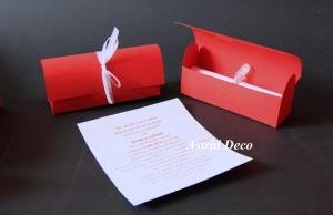 Invitatie nunta - Cufar