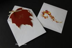 Invitatie nunta - Frunze Toamna