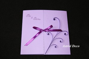 Invitatie nunta - Glamour