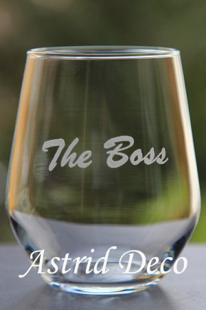 Pahar gravat manual - The Boss