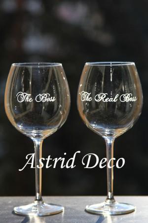 Set 2 pahare vin - Boss