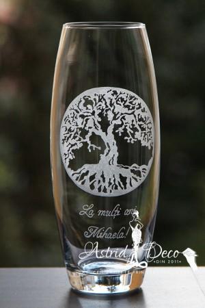 Vaza gravata manual - Copacul vietii