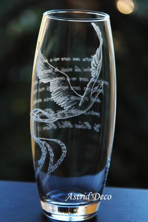 Vaza gravata - Pasarea Phoenix B