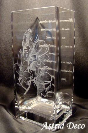 Vaza gravata - Magnolii